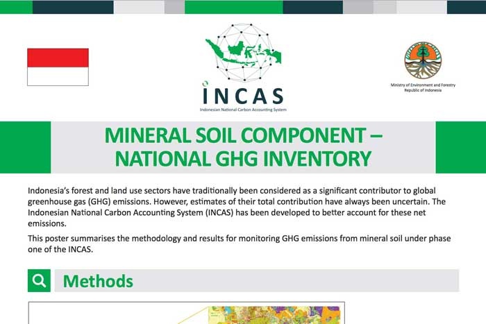 Incas mineral soil rollbanner incas for Soil mineral content